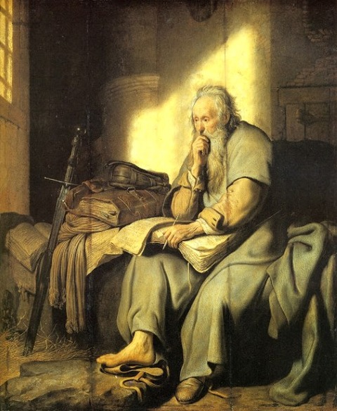 Rembrandt's The Apostle Paul in Prison