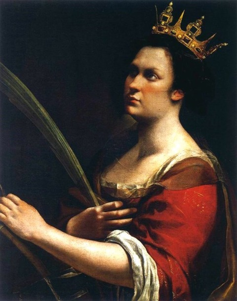 Artemisia Gentileschi - St Catherine of Alexandria