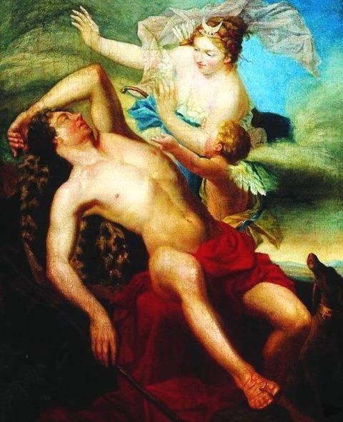 Andrei Ivanovich Ivanov - Selene and Endymion