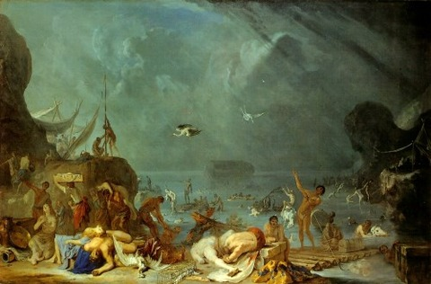 The Flood Johann Heinrich Schönfeld 1634-35