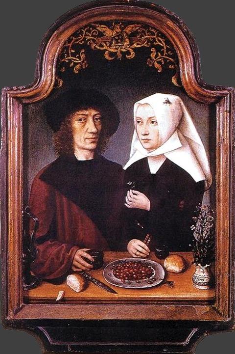 芸術家とその妻の肖像