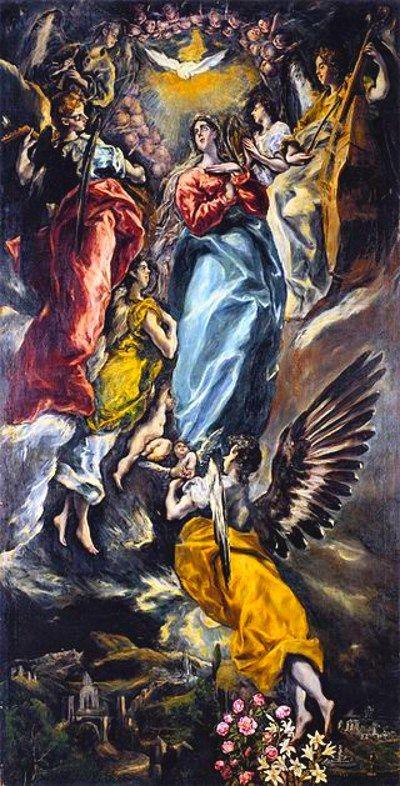 Inmaculada_Oballe_El_Greco 1608-13