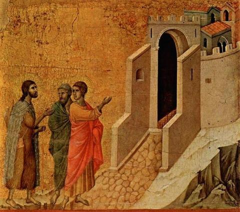 Duccio, 1308–1311