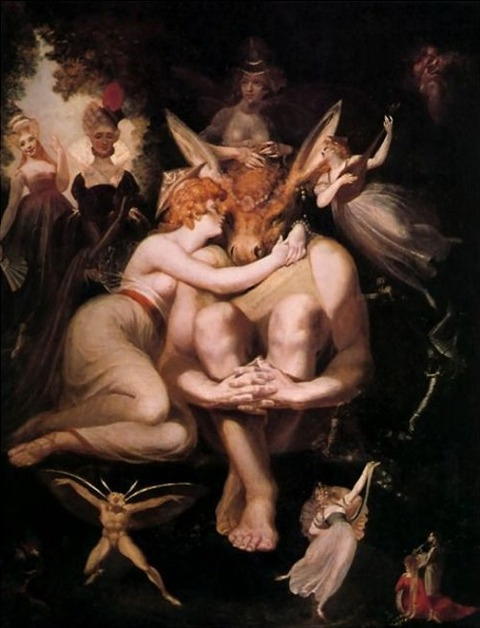 Titania Awakes Surrounded by Attendant Faries - 1794