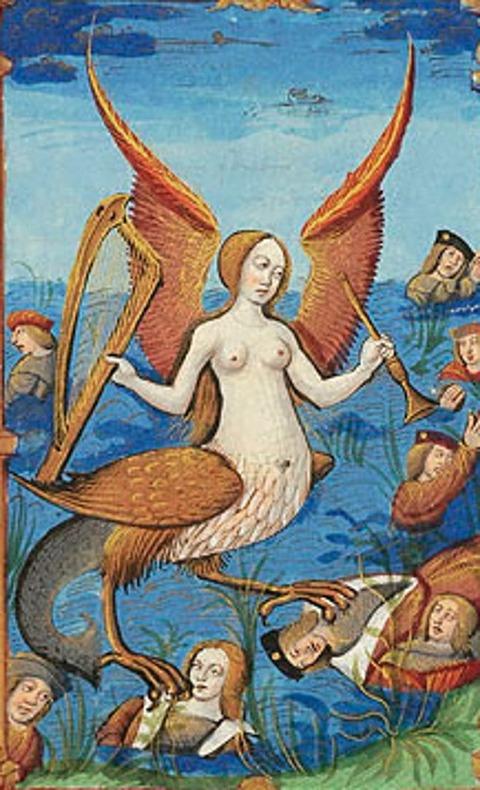 Siren  Les abus du monde  France, Rouen  1510