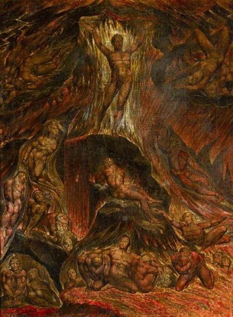 Satan Calling up His Legions William Blake