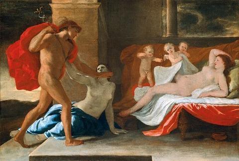 Nicolas Poussin  Mercure, Hersé et Aglaure 1624-26