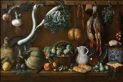 Jacopo da Empoli Jacopo Chimenti  Still life  1625