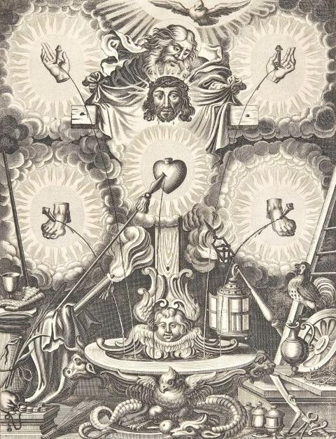 Abraham Aubry after Johann Toussyn German 1651-1700