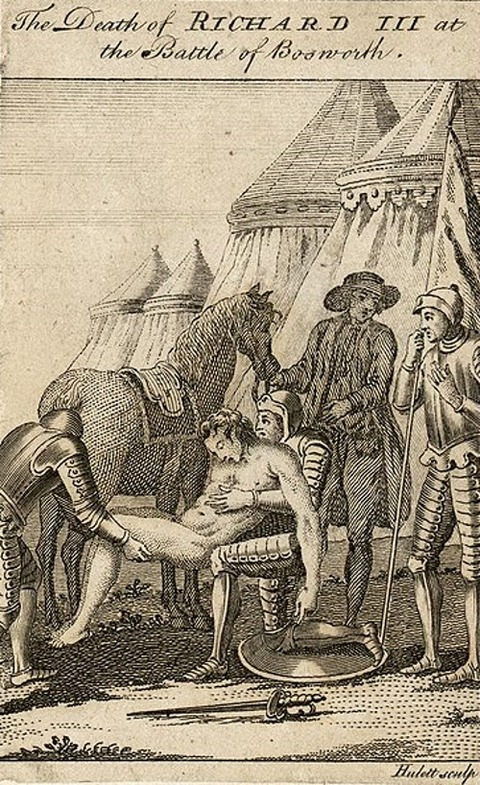 The_death_of_Richard_III_at_Bosworth Thomas Pennant 18th