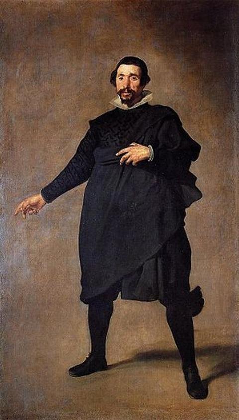 DIEGO VELAZQUEZ Pablo de Valladolid, (1635)