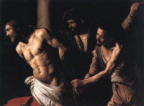 The Flagellation of Christ by Caravaggio