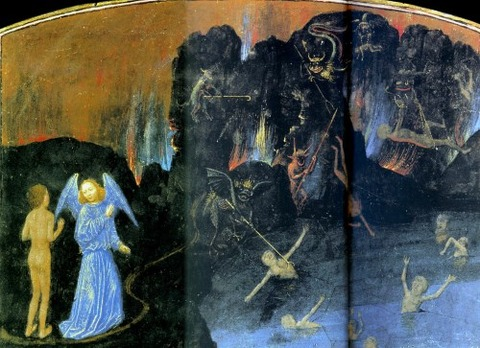 Simon Marmion, Vision de l'Enfer Vision of Hell 1475