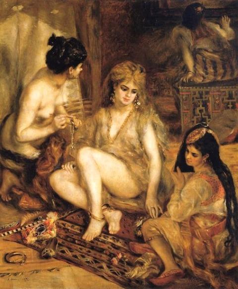 1841-1919) The Harem