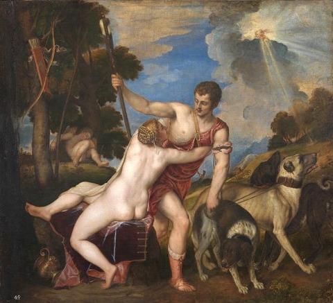 ティツィアーノ・ヴェチェッリオ 1554