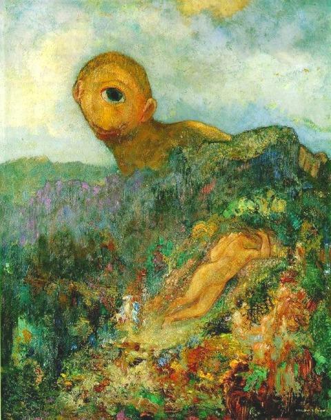 Redon_cyclops 1914