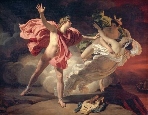 Michel Martin Drolling, Orphée et Eurydice, 1820