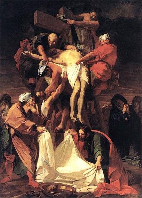 Jean-Baptiste Jouvenet - Descent from the Cross  1697