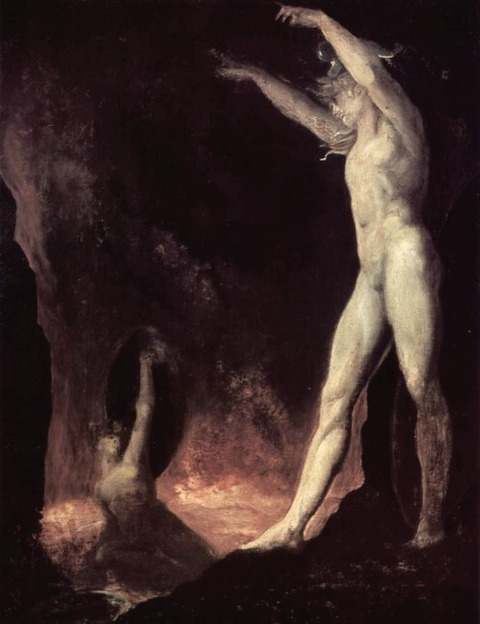 Satanic Call to Beelzebub in Hell, John Henry Fuseli