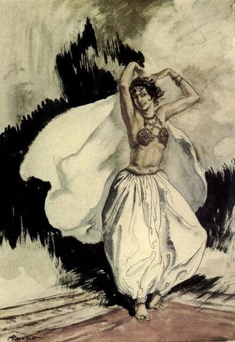 Arthur Rackham- Peer Gynt -Anitra's dance