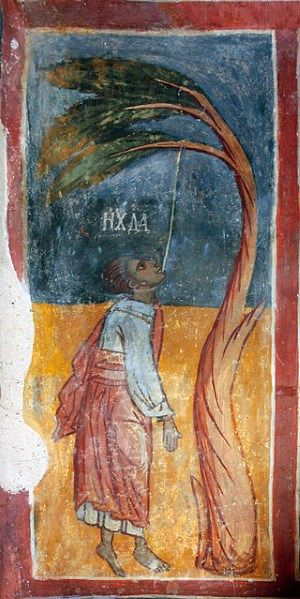 Strupets, Bulgaria, 16th-century fresco
