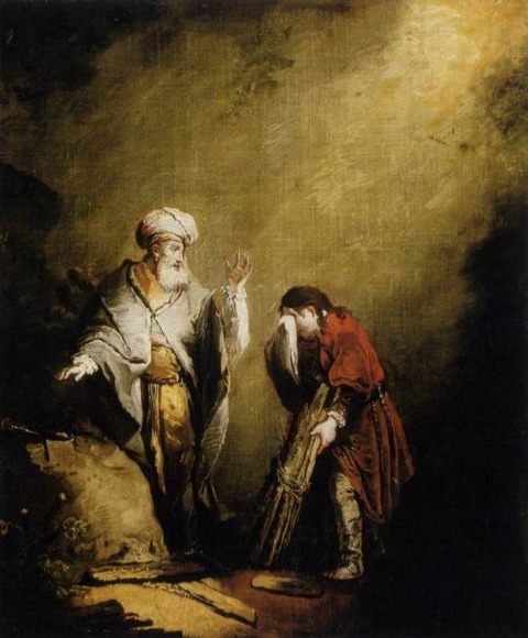 The Sacrifice of Isaac  – DIETRICH (1712-1774)