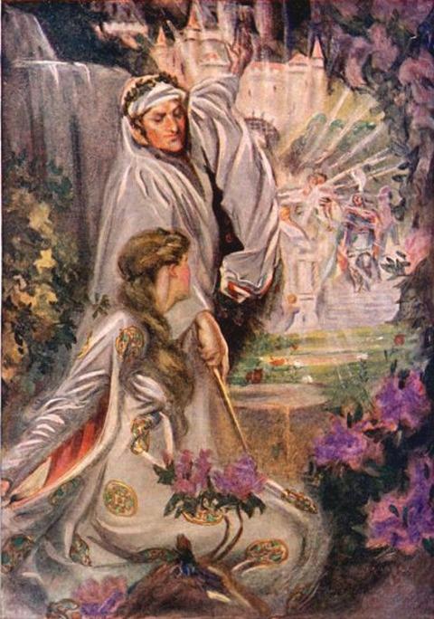 Merlin and Vivien   Lewis Spence