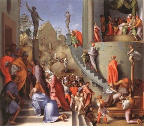 Pontormo, Joseph in Eygpt,  1518