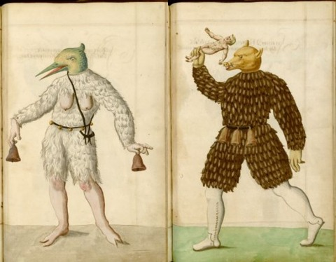 Radical Fashion from the Schembart Carnival (1590)14