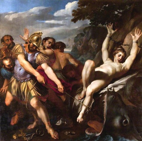 Orlando Delivering Olympia  Ludovico Carracci 1555–1619