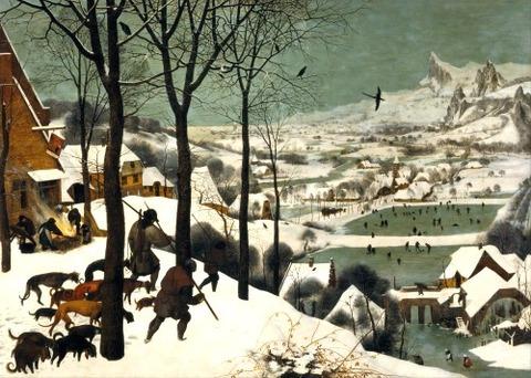 hunters in the snow bruegel