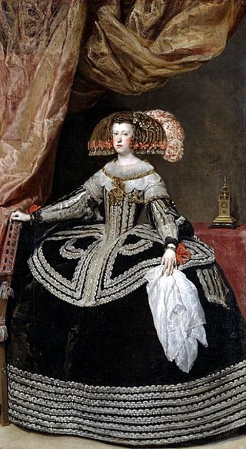Mariana of Austria 1653