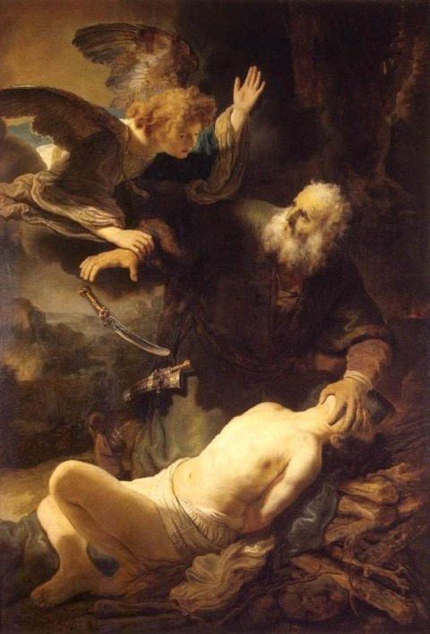 Sacrifice of Isaac REMBRANDT (1635)