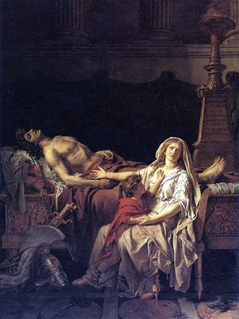 (1783) Jacques-Louis David