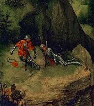 Pieter Bruegel the Elder - The Suicide of Saul 1562 -