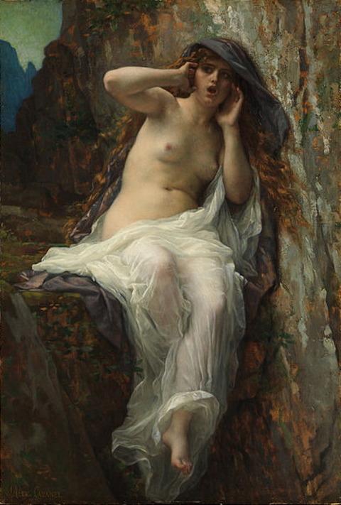 Alexandre Cabanel - Echo 1874