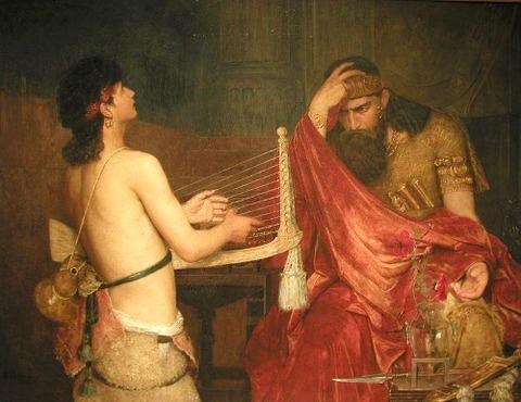 Josephson, Ernst  1878 David and Saul