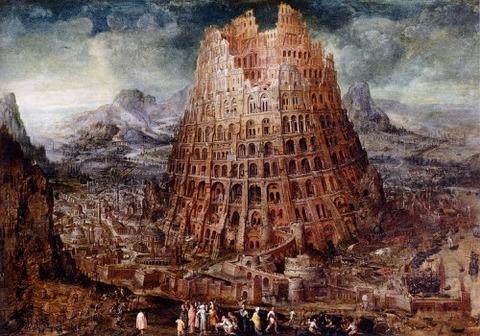 Marten van Valckenborch, The Tower of Babel, circa 1600