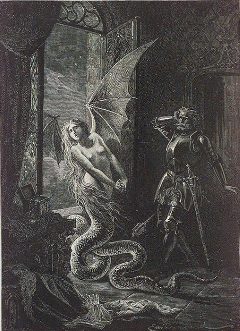Melusine Gustave Doré
