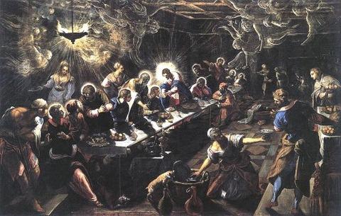 Tintoretto 1592-94