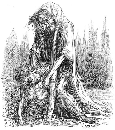 Demon Lamia Collin de Plancy's Dictionnaire Infernal