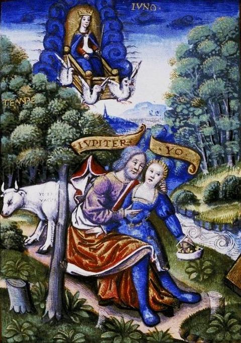 Zeus, Io, and Hera