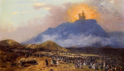 Jean-Léon Gérôme The Mountain of God