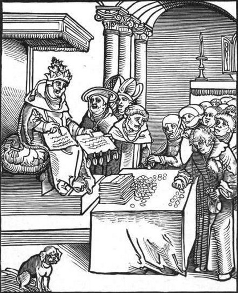 Passional Christi und Antichristi  Lucas Cranach the Elder