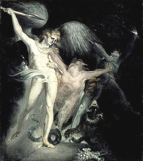 Satan Summoning His Legions Johann Heinrich Füssli