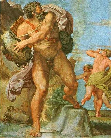 The Cyclops Polyphemus - Annibale Carracci (1560–1609)