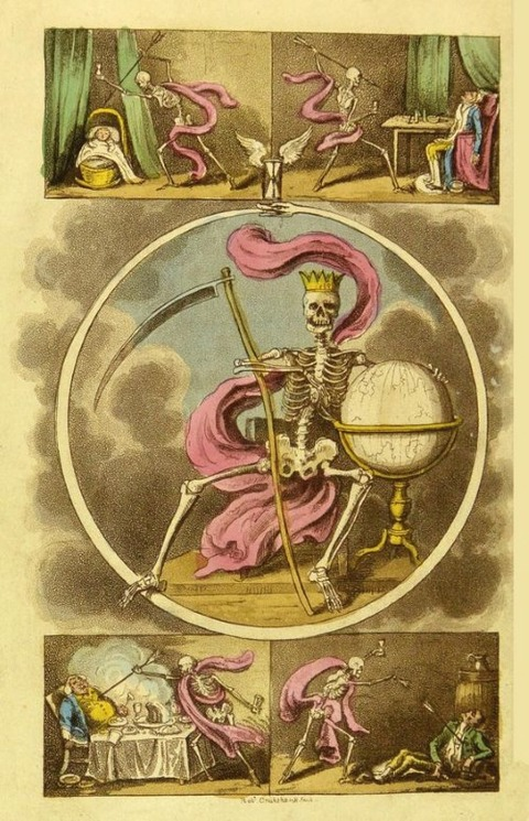 The British Dance of Death (1823)