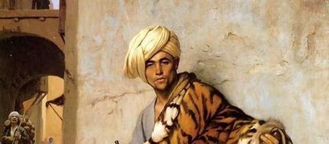 Pelt Merchant of Cairo  Jean-Léon Gérôme 1869 - コピー