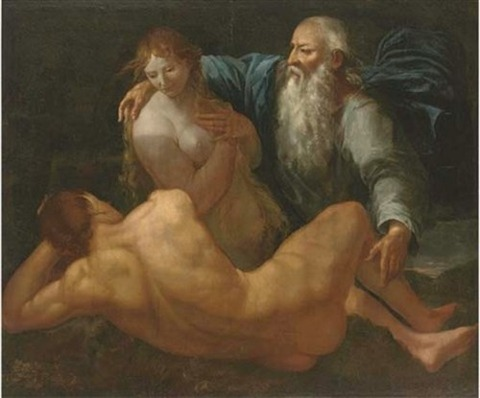 Creation of Adam and Eve – Giulio Carpioni – 1613-79
