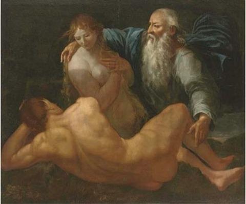 Creation of Adam and Eve – Giulio Carpioni – 1613-79